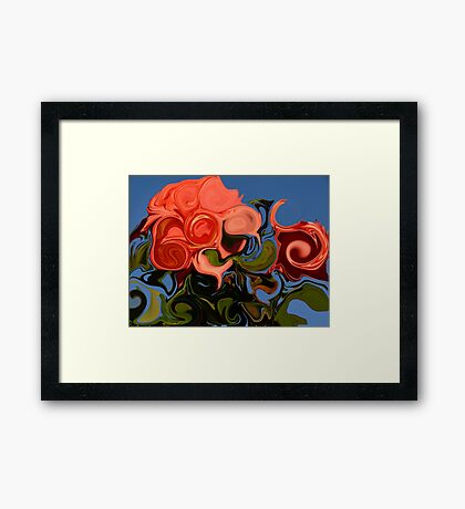 Roses For You Framed Print