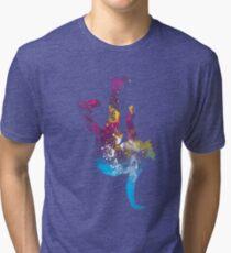 hip hop galaxy Tri-blend T-Shirt