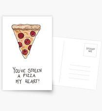 You've Stolen A Pizza My Heart! Postcards