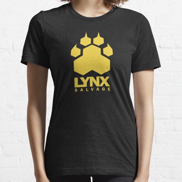 LYNX Salvage Corp Yellow Logo - Shipbreaker Hardspace Essential T-Shirt