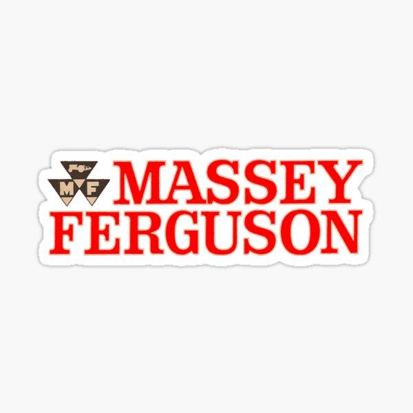 Tractor Massey Ferguson Pegatina