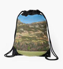 The Ochil Hills in Central Scotland Drawstring Bag