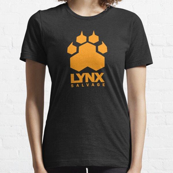 LYNX Salvage Corp Orange Logo - Shipbreaker Hardspace Essential T-Shirt