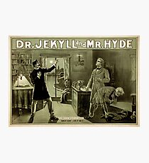 Gothic fiction - dr. jekyll and mr. Hyde Photographic Print