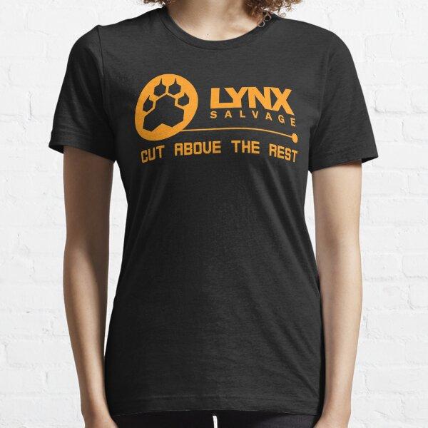 Cut Above LYNX Salvage Corp Orange Logo - Shipbreaker Hardspace Essential T-Shirt