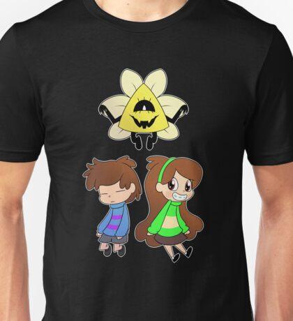 Gravity Falls Crossover (colour ver) Unisex T-Shirt