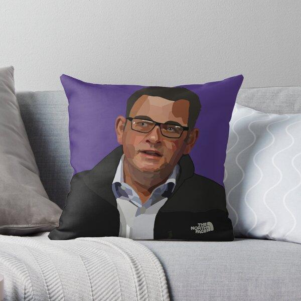 Dan Andrews – North face Throw Pillow