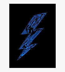THUNDER FLASH Photographic Print