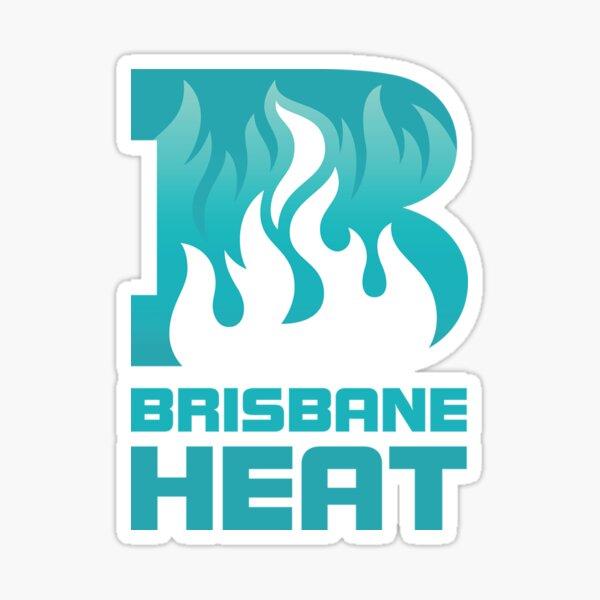Brisbane Heat Glossy Sticker