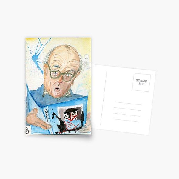 Gonzo Artist Ralph Steadman Postcard