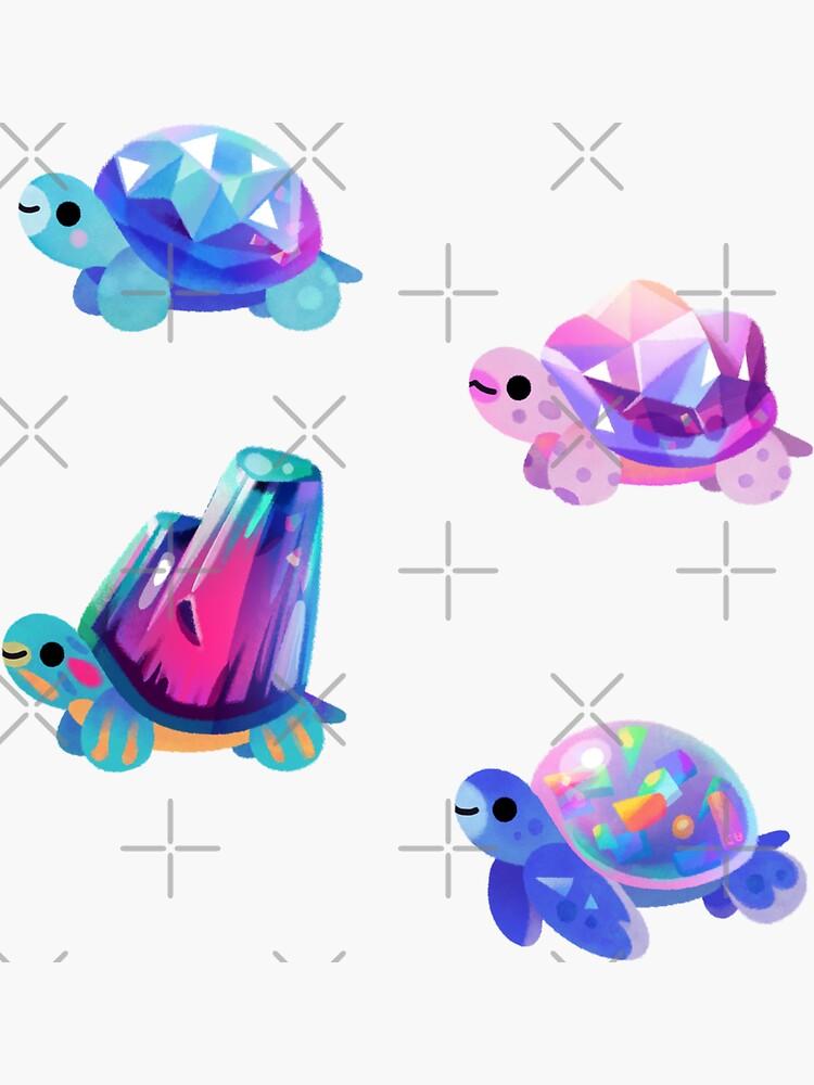 Jewel turtle by pikaole