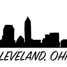 Cleveland Ohio Skyline City  by rmcbuckeye