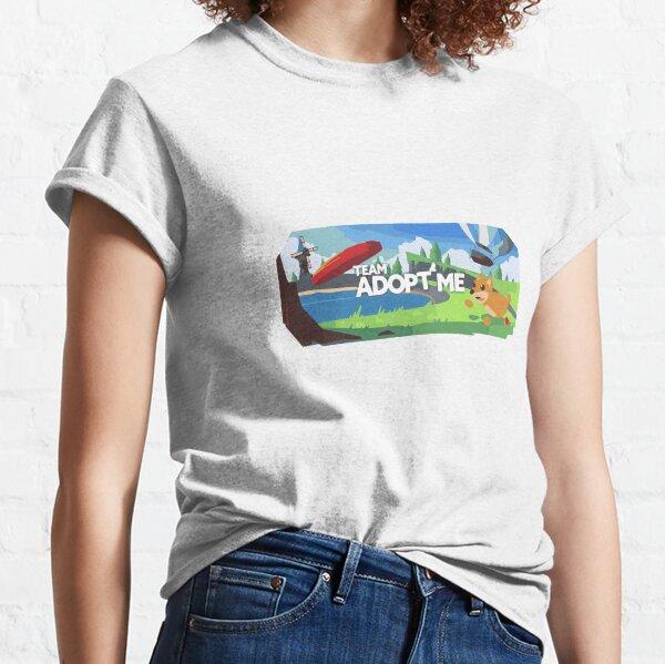 Cute Roblox Adopt Me Kids Camiseta clásica