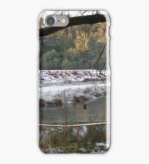 Frozen Pool and Railway Embankment iPhone Case/Skin