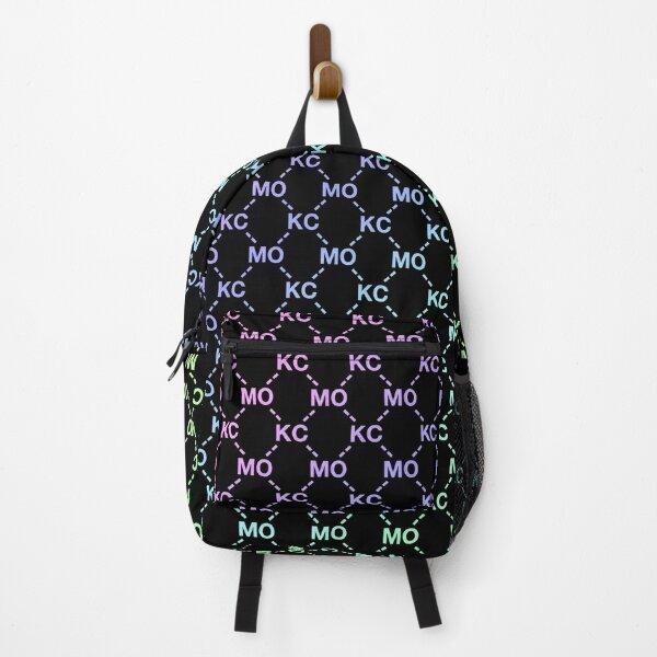 KC pattern fashion print Backpack