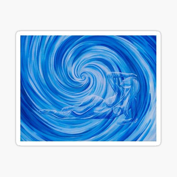 Swirl 1  Sticker