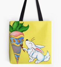 Easter Carrot Tote Bag