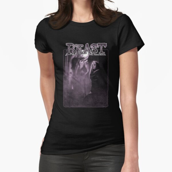 Beast: Dragon  Fitted T-Shirt