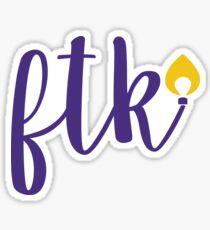 FTK - JMU Sticker