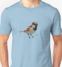 The House Sparrow Unisex T-Shirt