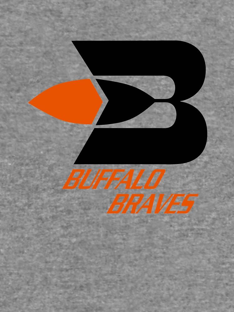BEST SELLER - Buffalo Braves Logo Merchandise by montezumagaz