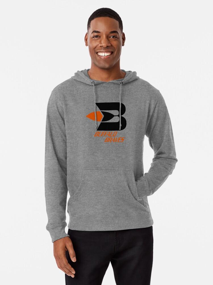 Alternate view of BEST SELLER - Buffalo Braves Logo Merchandise Lightweight Hoodie