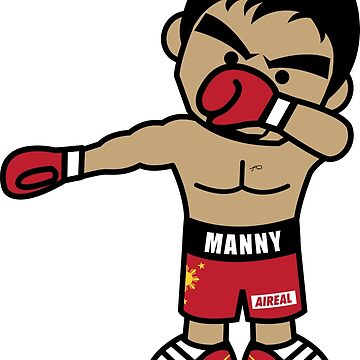 Dabbing Manny Pacquiao By AiReal Apparel by airealapparel