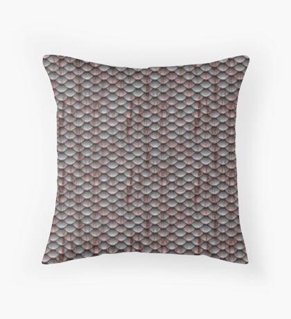 Dark Pink Armor  Throw Pillow