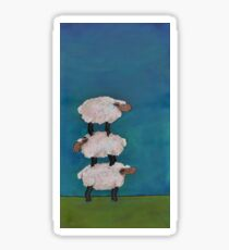 Ewe Get By With a Little Help From Your Friends Sticker