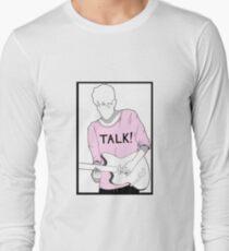 Adam Hann - TALK! Long Sleeve T-Shirt