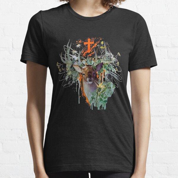 Acuarelas Jägermeister Camiseta esencial