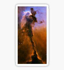 The Black Pillar in the Eagle Nebula Messier 16 M16 NGC 6611 Sticker