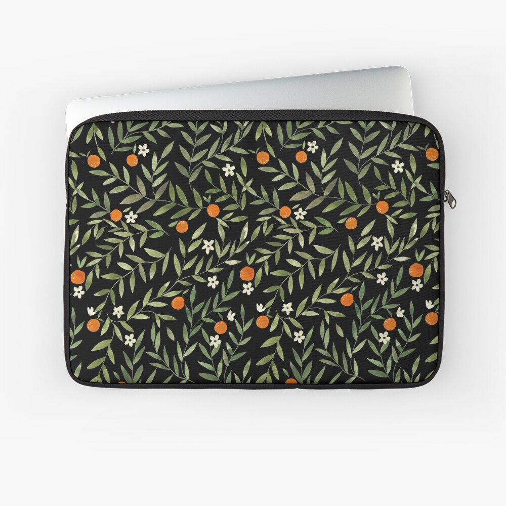 Waterolor Oranges Laptop Sleeve