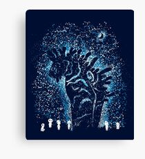 Spirits In The Night  Canvas Print
