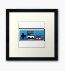 The Classic Nerd Controller Framed Print