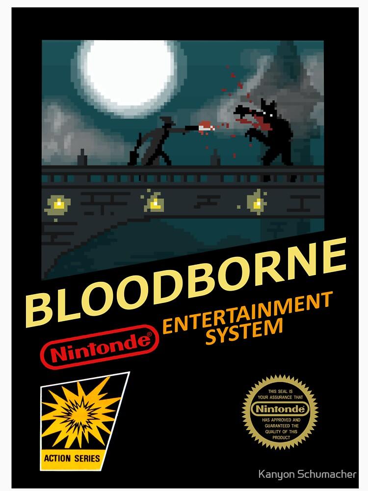 Bloodborne NES nintendo by ControllerGeek