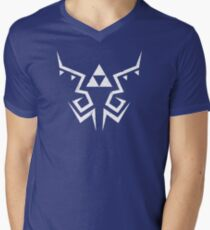 Zelda Breath of the Wild Link shirt pattern Mens V-Neck T-Shirt
