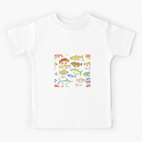 All The Fishes Kids T-Shirt