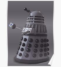 Friendly Dalek Poster