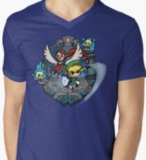 Zelda Wind Waker Earth Temple Men's V-Neck T-Shirt
