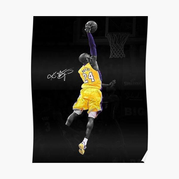 Legend NBA  Lakers 24 Kobe Bryant Poster