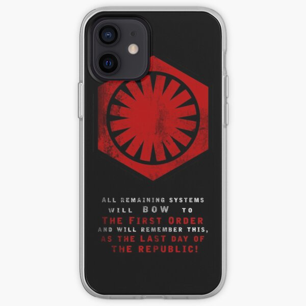 The Power of The First Order iPhone Soft Case