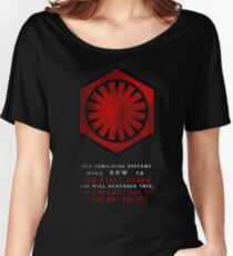 The Power of The First Order Women's Relaxed Fit T-Shirt