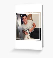 Grayson Dolan  Greeting Card