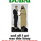 Greg Hunt went to Dubai and all I got was this lousy Best Minister of the World award by suranyami