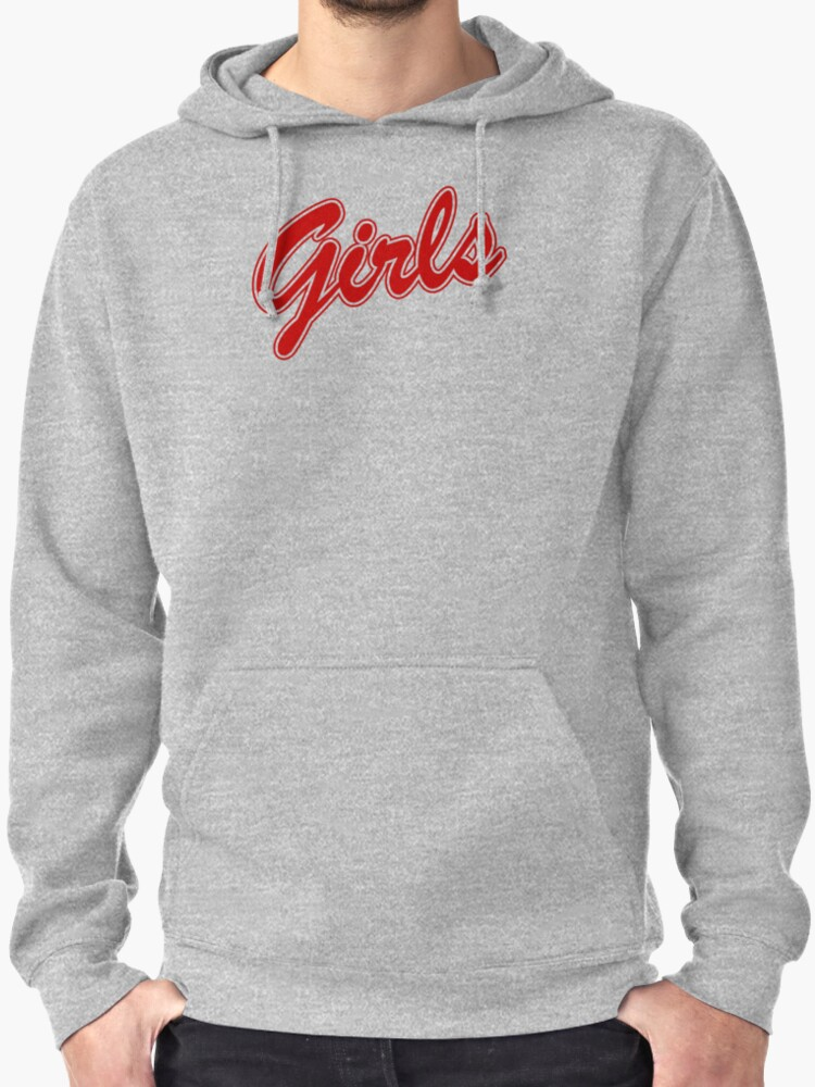 Girls Sweatshirt - Friends (red)