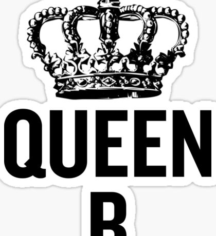 Queen B Sticker