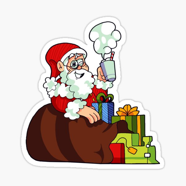 Santa Claus - Santa Playland Sticker