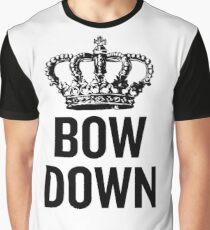Bow Down Graphic T-Shirt