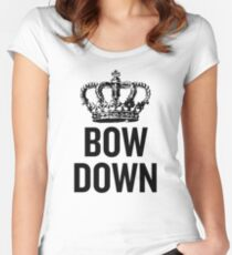 Bow Down Women's Fitted Scoop T-Shirt